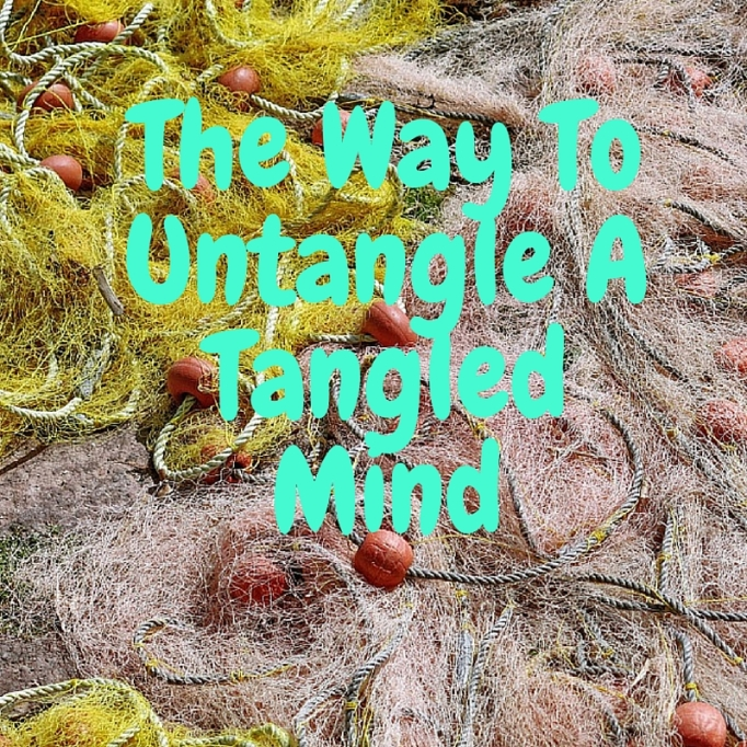 the way to untangle a tangled mind-purposive writer